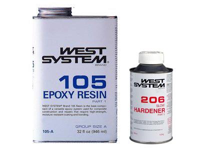 105 Epoxy Hars + 206 Langzame Verharder