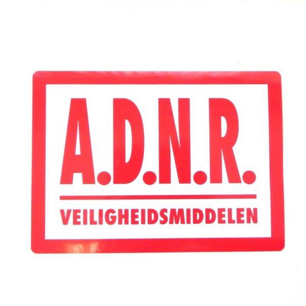 A.D.N.R. Veiligheidsmiddelen