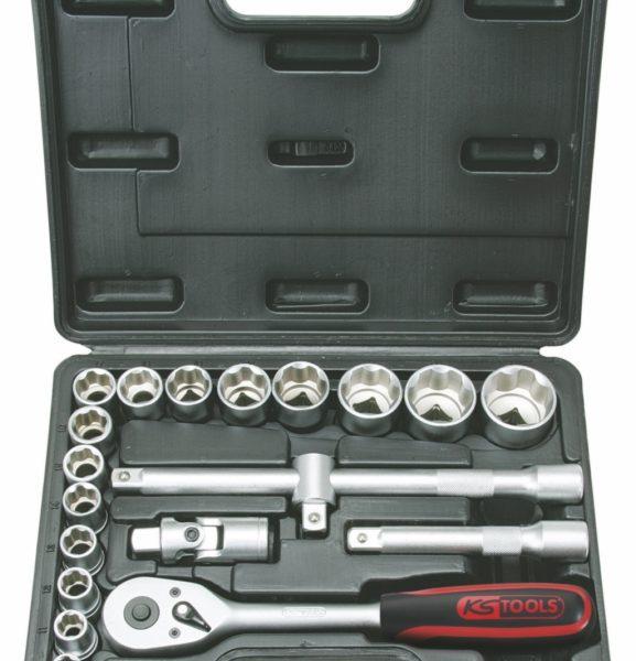 "Dopsleutelset 1/2"" 20-delig superlock KS-Tools"