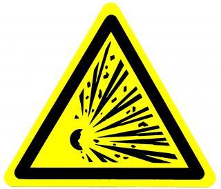 Gevaar Explosie