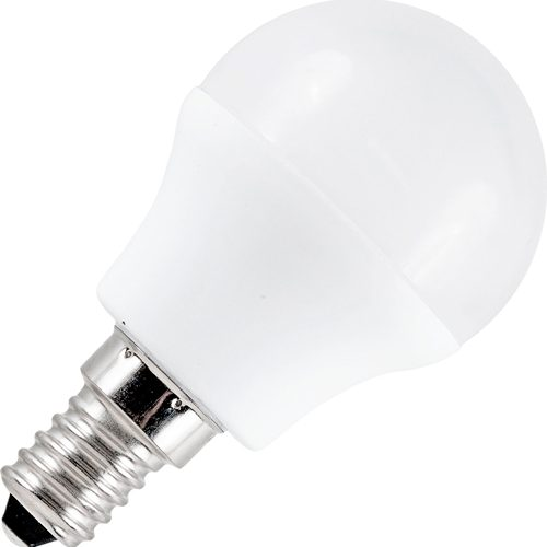 LED Kogellamp 12-60V 3W 3000K E27