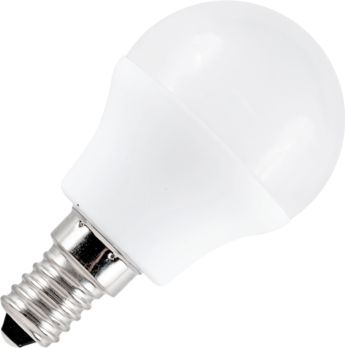 LED Kogellamp 12-60V 3W 3000K E27