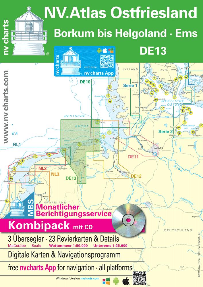 NV.Atlas Duitsland - Ostfriesland DE 13