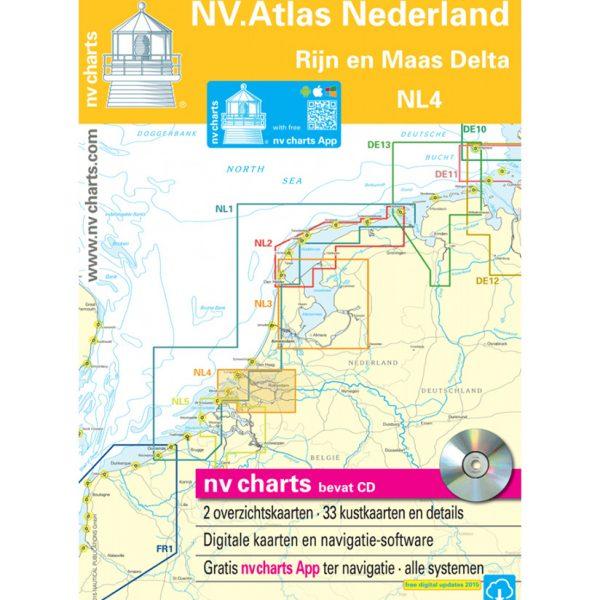 NVatlas Nederland Rijn en maas delta
