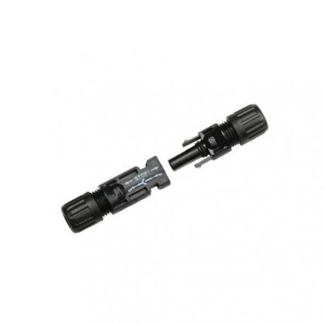 Solar connector pair MC4, 1x Male / 1x Female