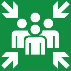 Verzamelplaats Symbool