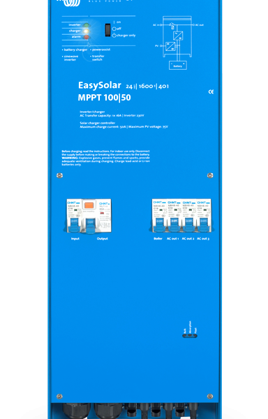 Victron EasySolar 48/5000/70-100 1xMPPT 150/100 Color Control