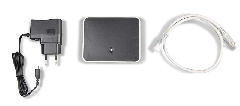 Wireless sensor gateway met kabels