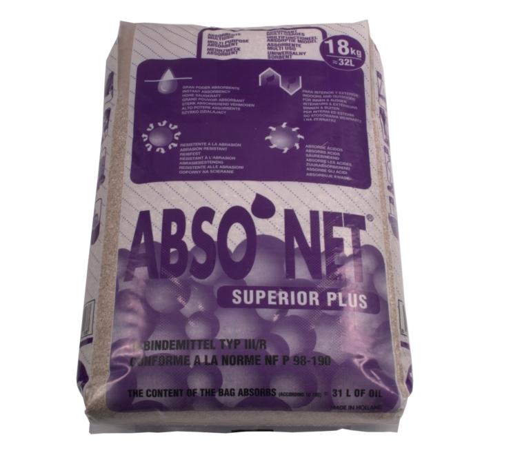 "Absorptiemiddel Abso""net Superior Plus 18kg"