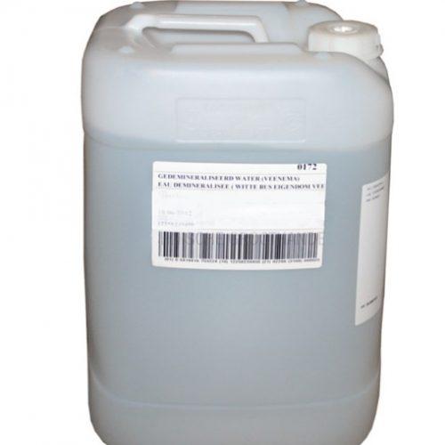 Gedemineraliseerd water 25 liter