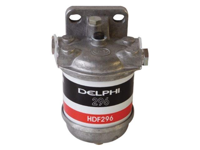 Delphi HDF296 Brandstoffilter met Aluminium Kom