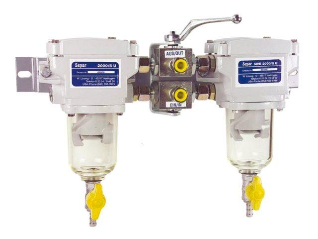 Separ Brandstoffilter -Waterafscheiders 30 Micron