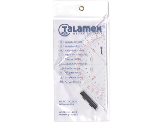 Talamex Navigatie driehoek met gradering 2