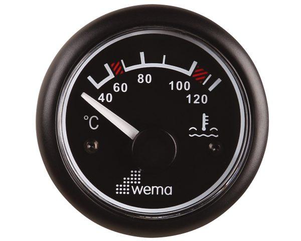 Wema Watertemperatuur Meter Zwart