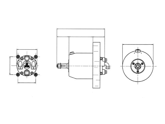 Hydraulische stuurpomp UP28 F