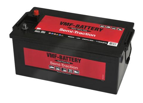 Batterij 12V 230Ah VMF Semi-Tractie