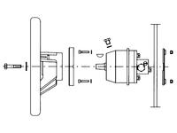 UP33F stuurpomp hydraulisch