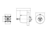 UP28F stuurpomp hydraulisch