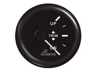 Motor trim meter zwart