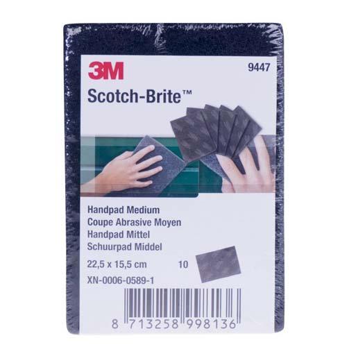 scotch-brite 3M 9447 schuurpad per 10 stuks