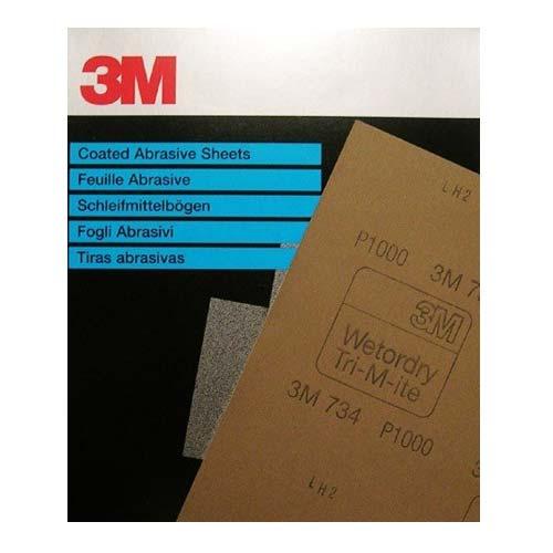 3M Waterproof schuurpapier 23X28 per 10 vel