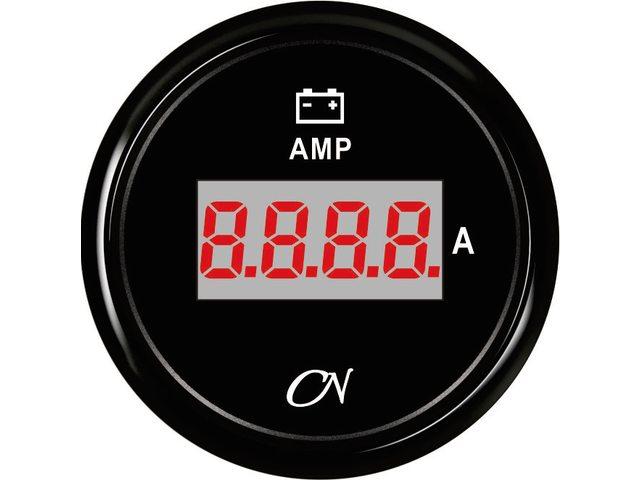 Amperemeter digitaal + shunt Zwart Zwart
