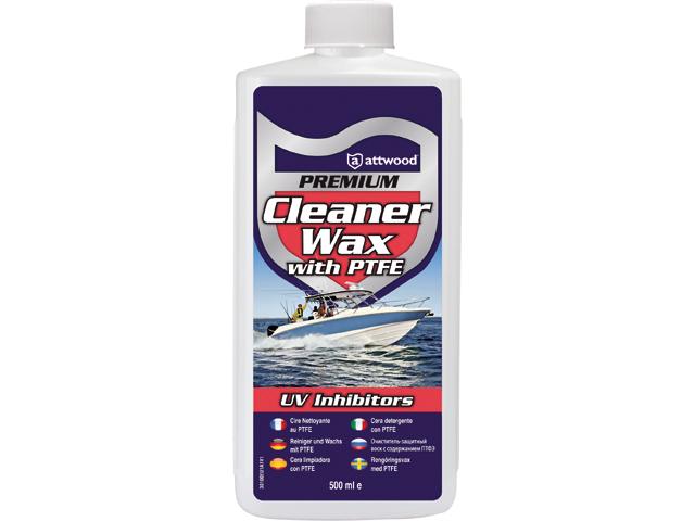 Attwood Premium Cleaner wax met PTFE