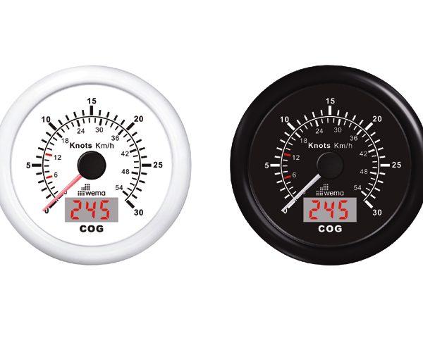 GPS speedometer wit 15kn/27km