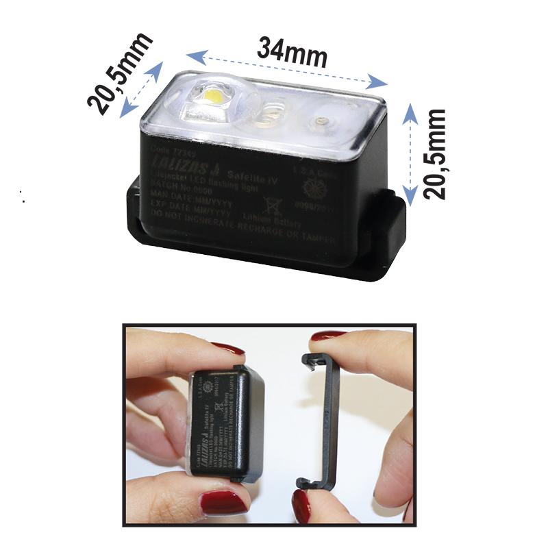 Reddingsvestlicht LED SOLAS ''Safelight IV'' Detail