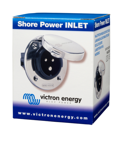 Power inlets / Walstroon invoer Victron