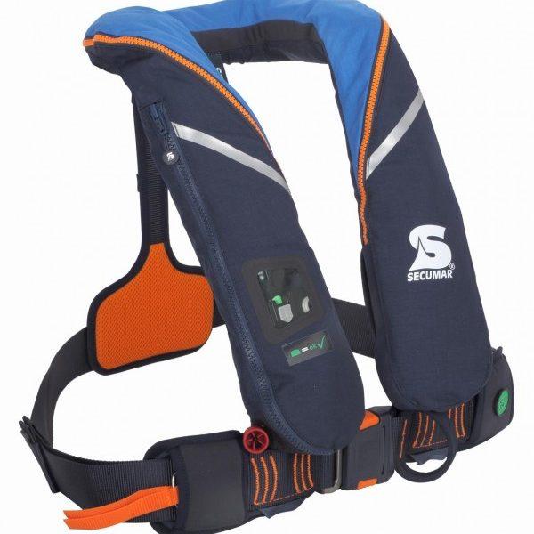 Secumar Survival 275 blauw/oranje bies