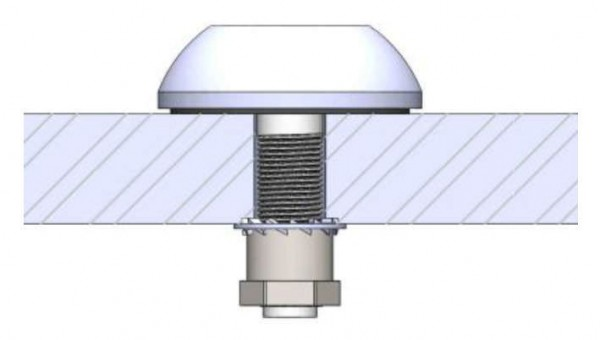 AC Marine GPS dek-inbouw antenne