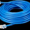 RJ45-splitter 1xRJ45 male/15cm cable/2xRJ45 female