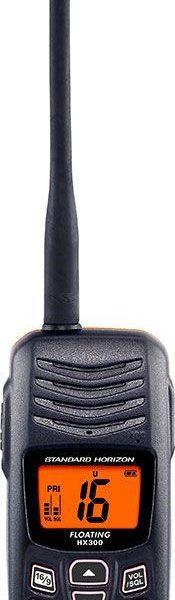 HX300E VHF-portofoon met ATIS