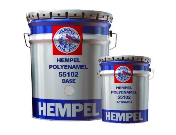 Hempel's Polyenamel 55102 op kleur
