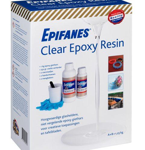 Epifanes Clear Epoxy Resin Kit 1.25kg